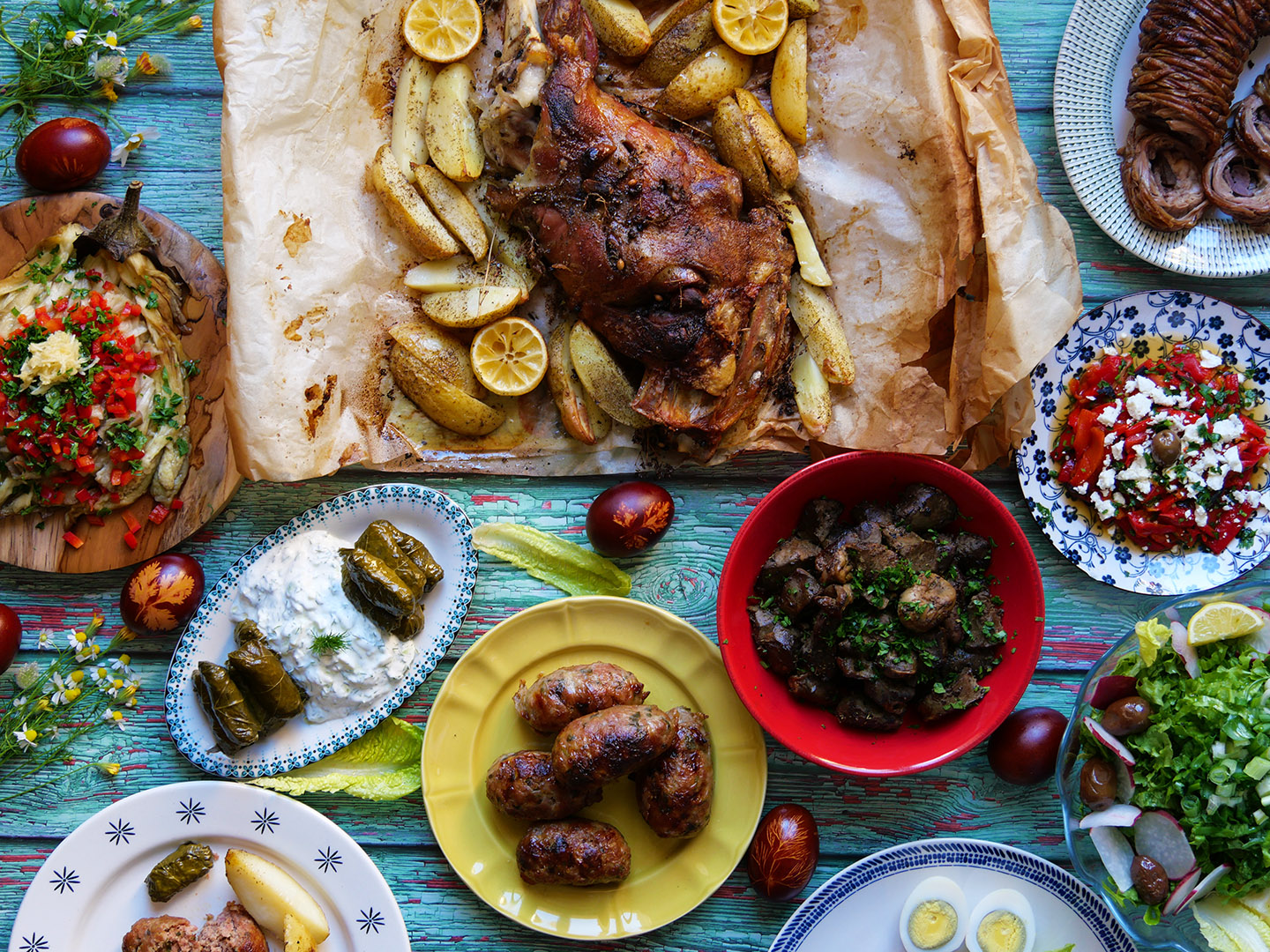 An Easter feast fit for a God or Goddess! – Athens Food on Foot