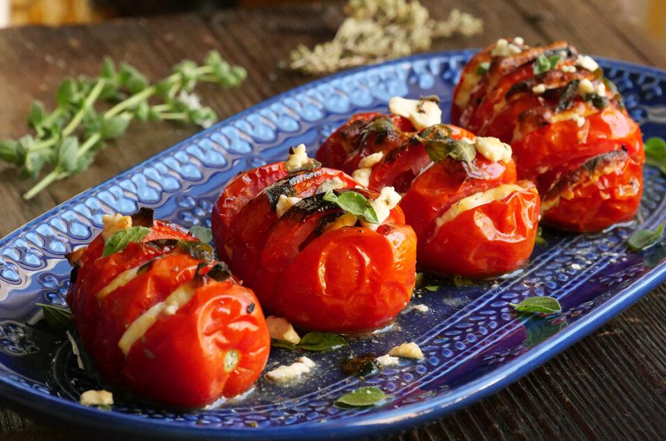 Greek-style grilled Pomodoro!