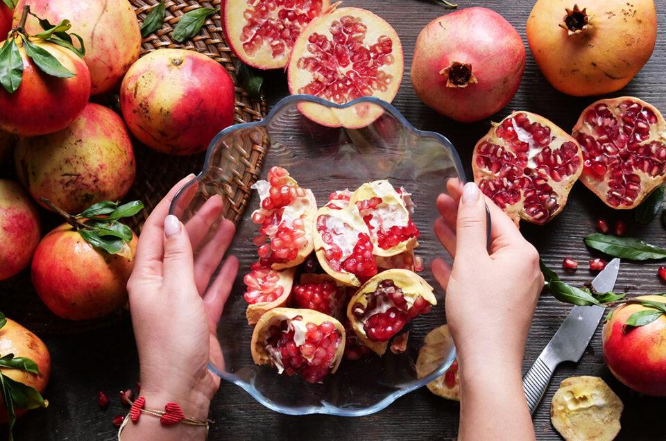 Pomegranate…the food of Greek Gods!